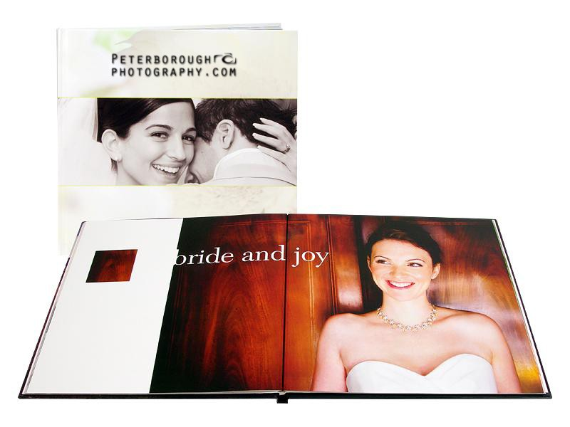 Silver Package Coffee Book Hand Made Printed Album