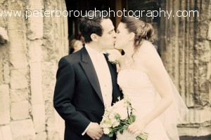 Lisa and Tom at Bourne Abbey Lincolnshire 2010