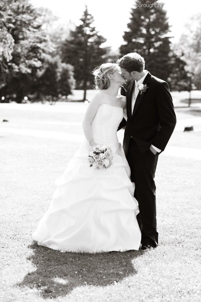 wedding photography burghley golf club