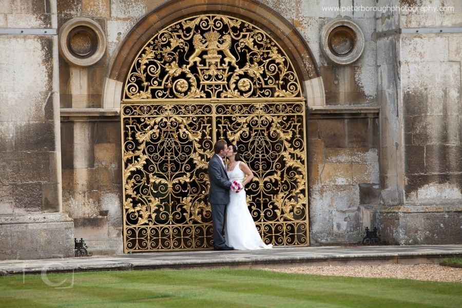 Wedding Photographer Stamford Burghley House