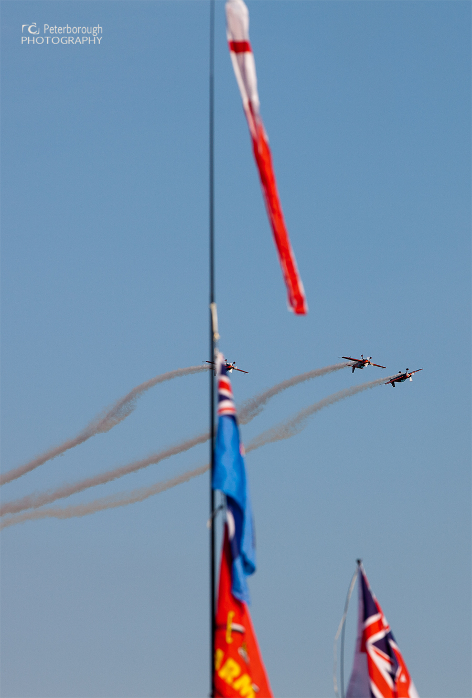 Blades Aerobatic Team - Burghley House Stamford - Battle proms