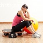 Jackie Diss on the vplate mini, gym studio